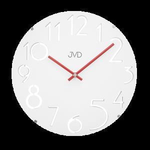 Designové dřevěné hodiny JVD HT076