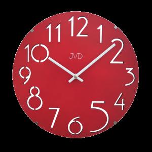 Designové dřevěné hodiny JVD HT076.1