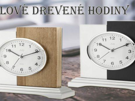 Stolové drevené hodiny. Blog